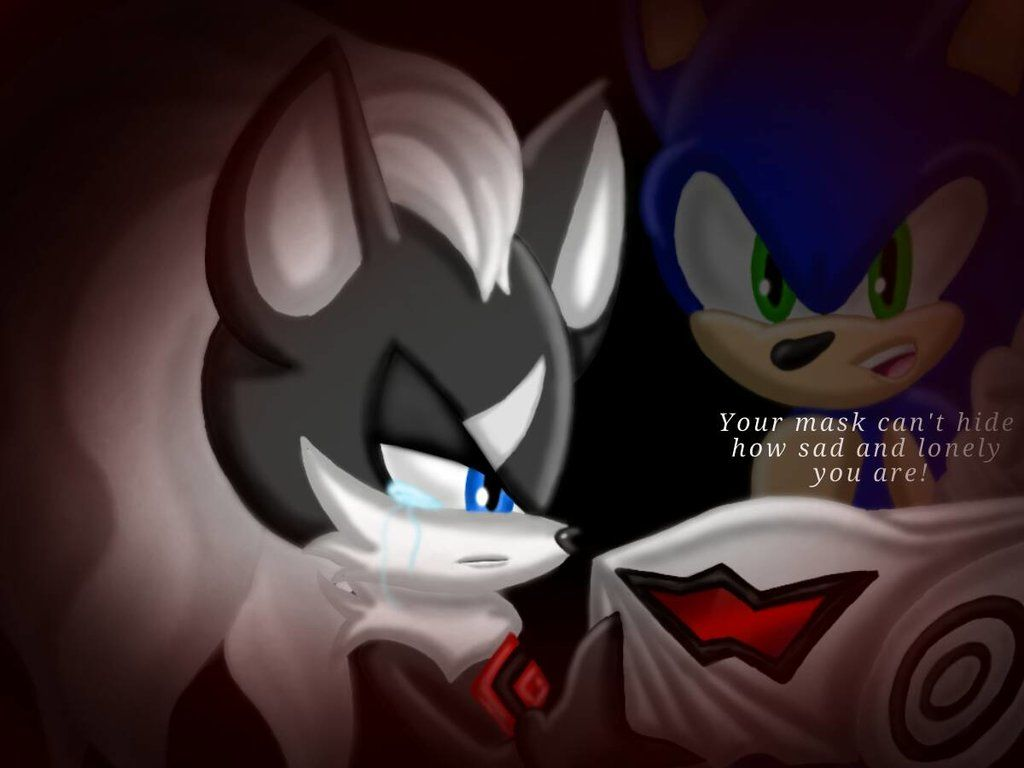A Mask To Hide My Weakness By Moesistersonsonicfan Sonic Anime Sonic Franchise