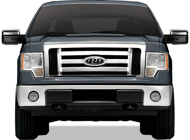 Ford F 150 Xl Stx Fx4 Abs Plastic Grille Grill Overlay Chrome 1pc Top Shopzies With Images Ford F150 Suv Suv Car