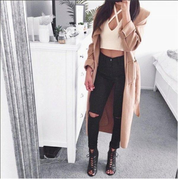 Chica negro estilo