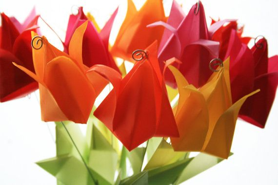 how to make your own tulips!