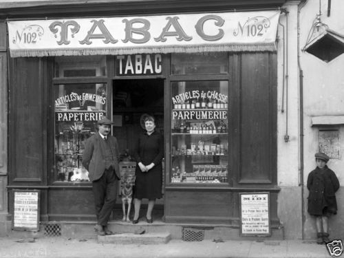 photo ancien commerce de toulouse bureau de tabac tirage repro an 1920 les petits commerces. Black Bedroom Furniture Sets. Home Design Ideas
