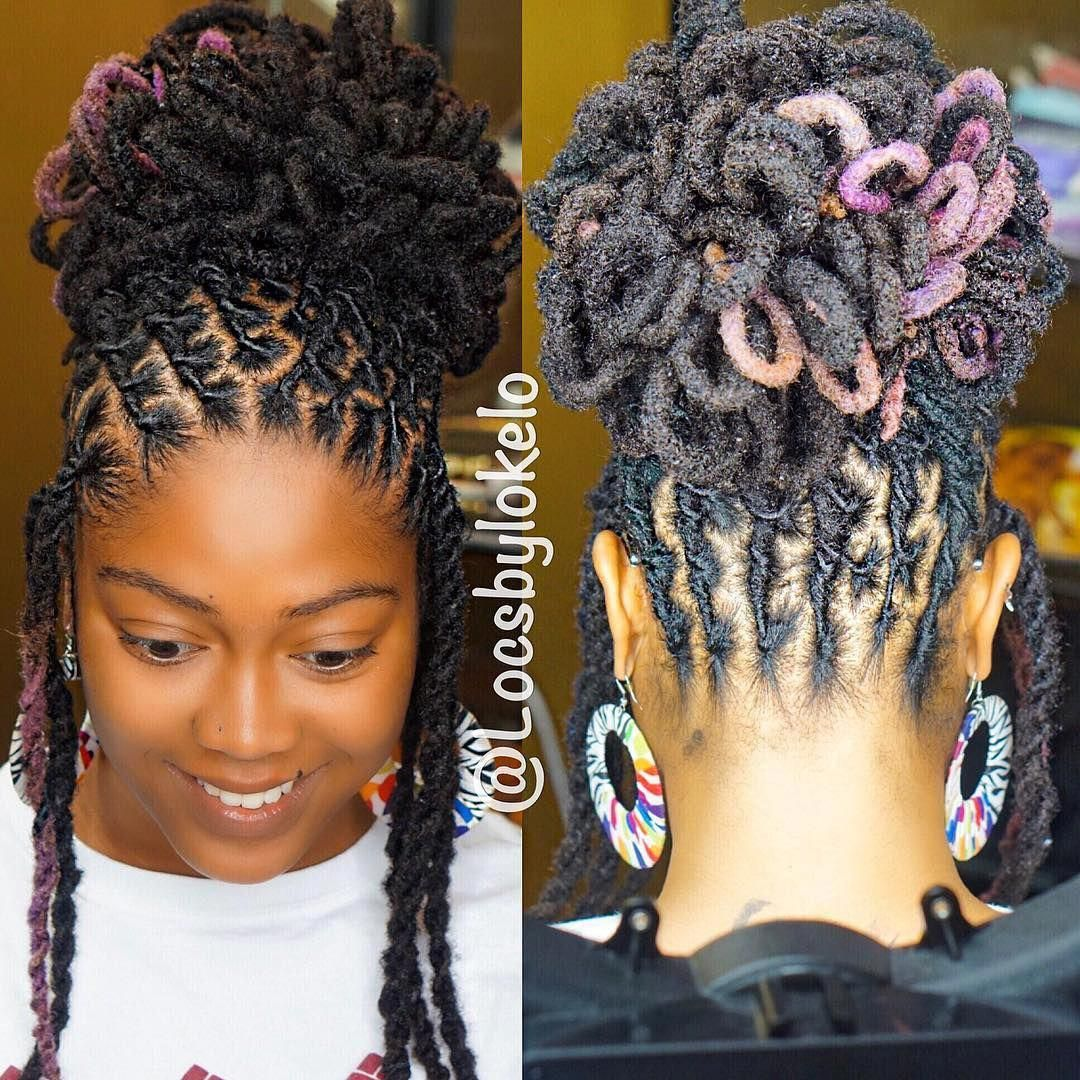 Wedding Hairstyle For Chubby Face: Locs Hairstyles, Hair Styles, Dread