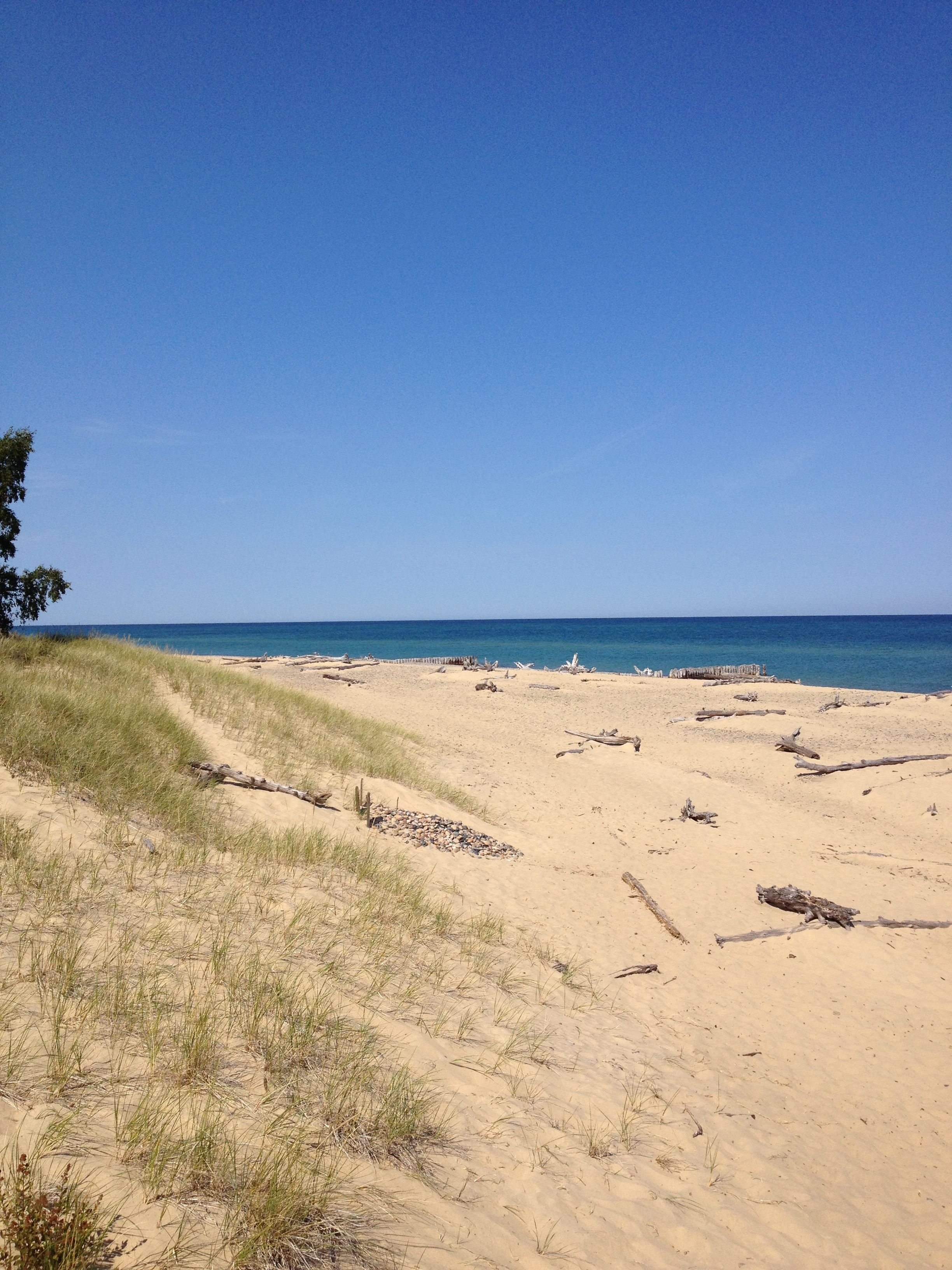 Whitefish Point Michigan This is a view