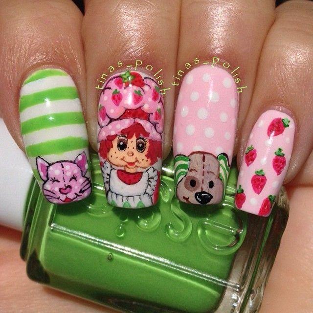 Instagram Media By Tinas Polish Strawberry Shortcake Nail Nails Nailart