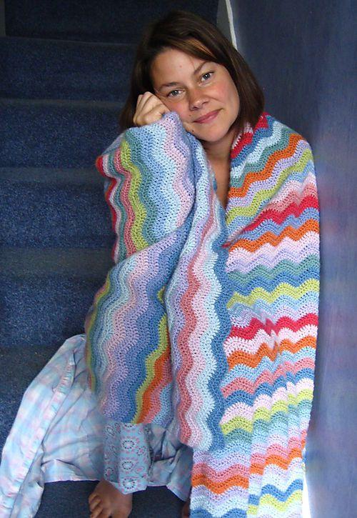 The Ripple Ta Dah Crochet Ripple Blanket Crochet Tutorial Pattern Crochet Ripple