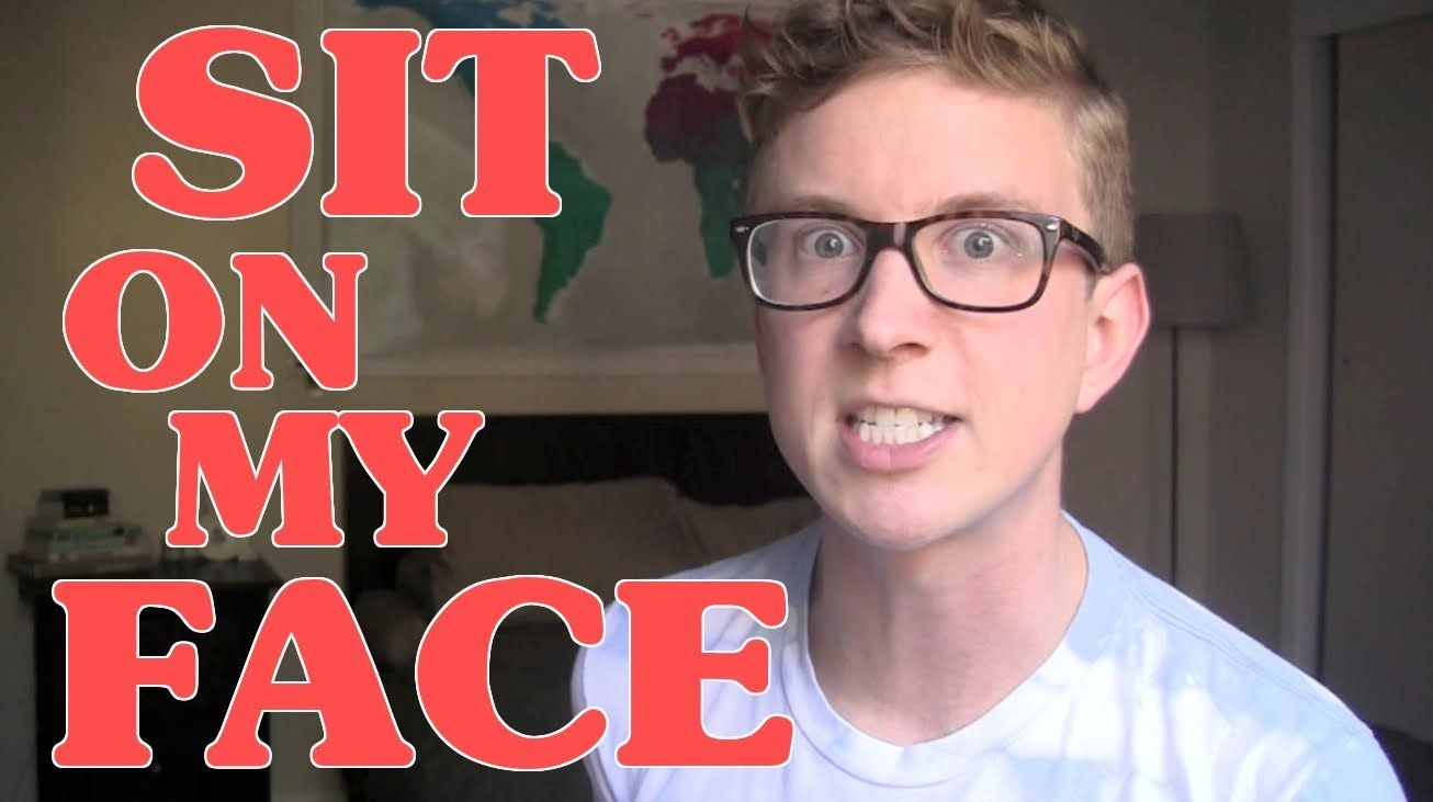 12 Ways To Tell Someone To Sit On Your Face Tyler Oakley