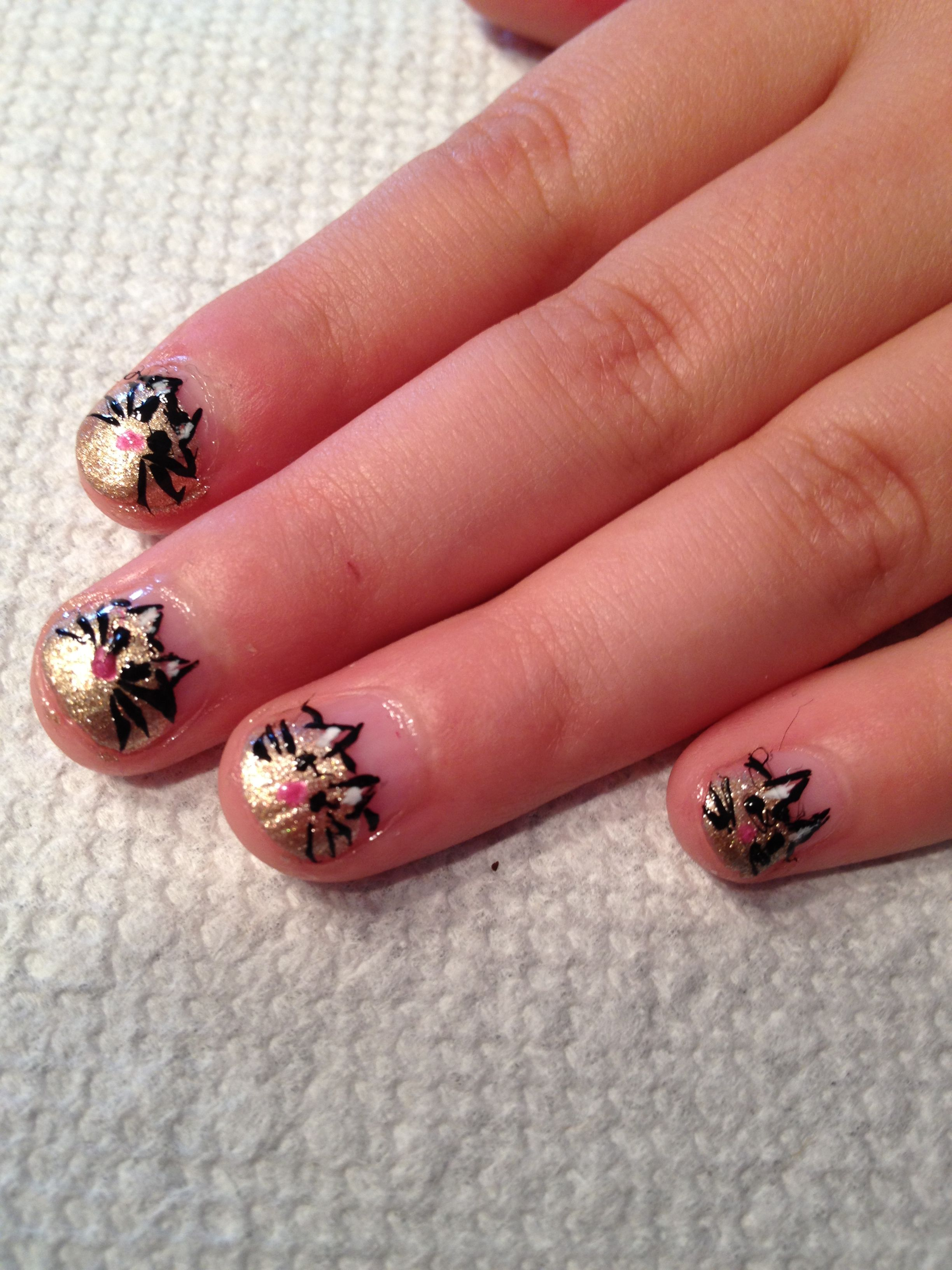 Cute nails for a little girl. | Nails for me and my girl ...