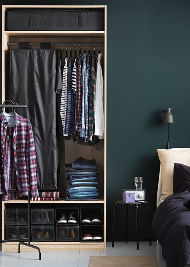 Un Petit Dressing Moderne Man Style And Interiors