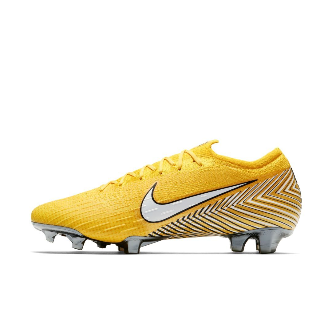best loved aca47 bb7f4 Nike Mercurial Vapor 360 Elite Neymar Jr Firm-Ground Soccer Cleat Size 12  (Amarillo)