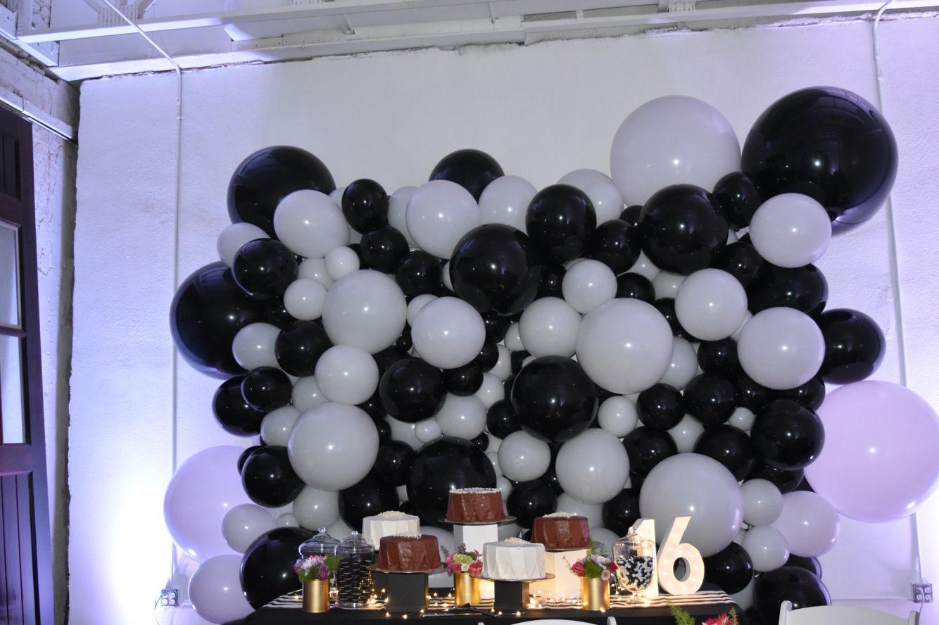 balloon wall balloon wall sweet 16