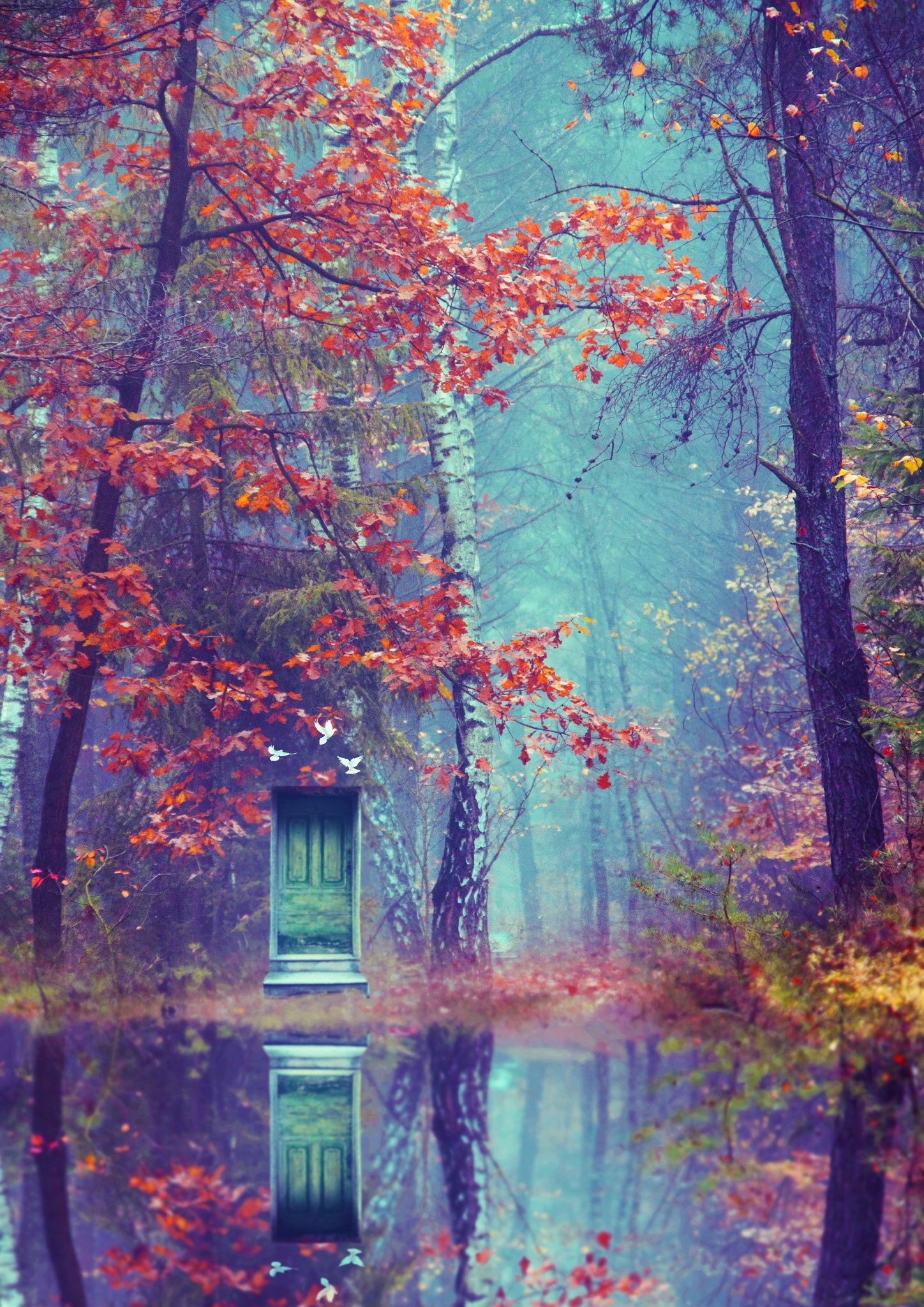The Green Door on the Lake by Nikita Gill on 500px
