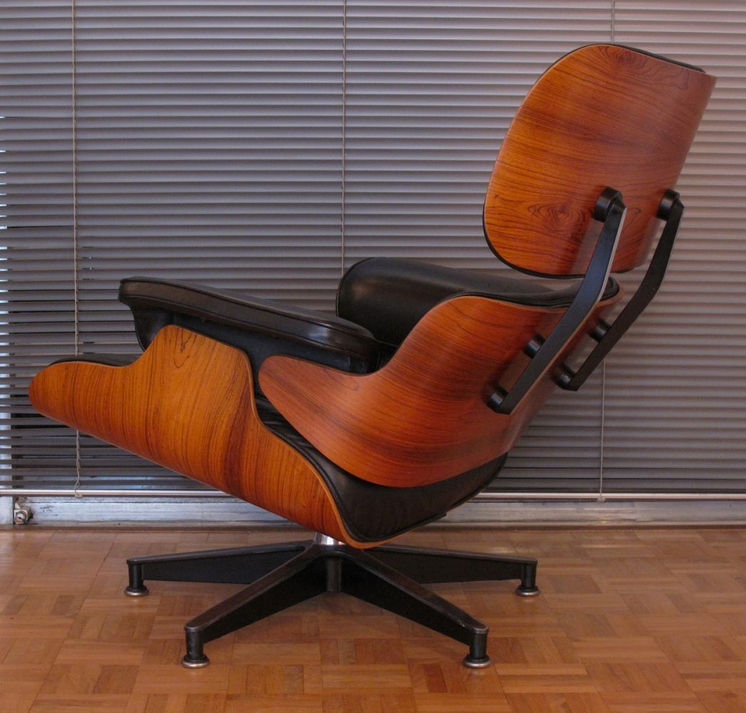 Retro Sessel Sale For Sale Vintage Black Leather Rosewood Eames Lounge Chair For