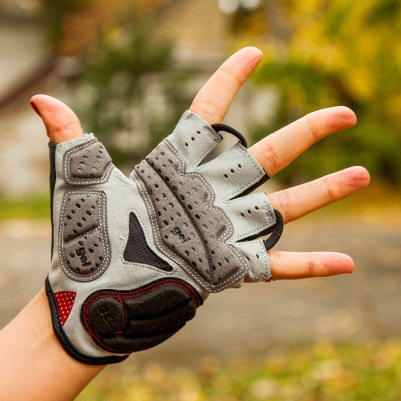 Men GUB Cycling Gloves Bike Half Finger Bicycle Gel Padded Fingerless Sports