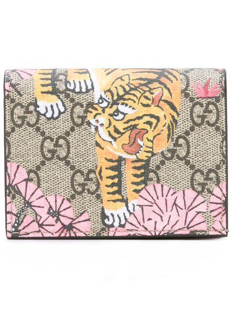 e164624a9d7 GUCCI GG Supreme Bengal tiger wallet.  gucci  wallet