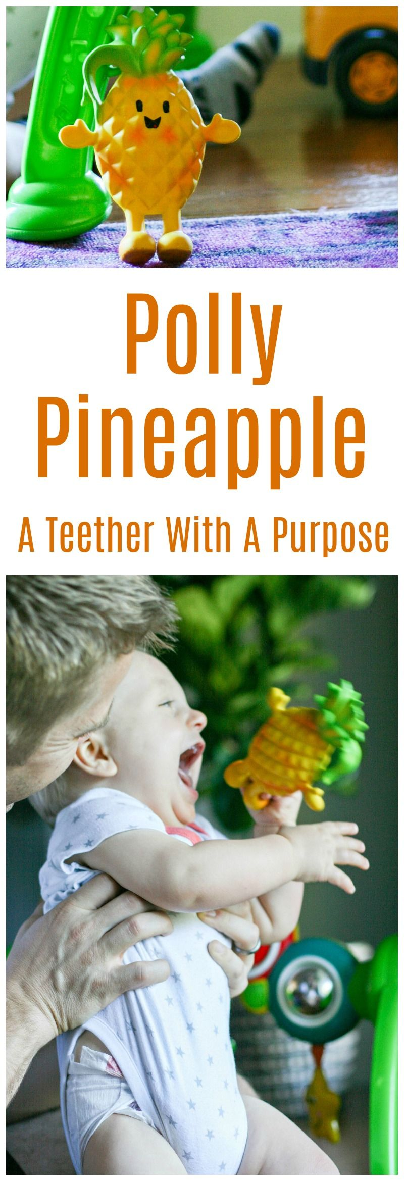 Polly Pineapple The Teether With A Greater Purpose