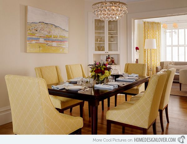 Love Chandelier Yellow Dining Room Brown Living Room Decor Corner Cabinet Dining Room