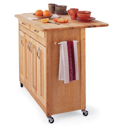 Catskill Super Kitchen Island Cart With Breakfast Bar $867.00 ...