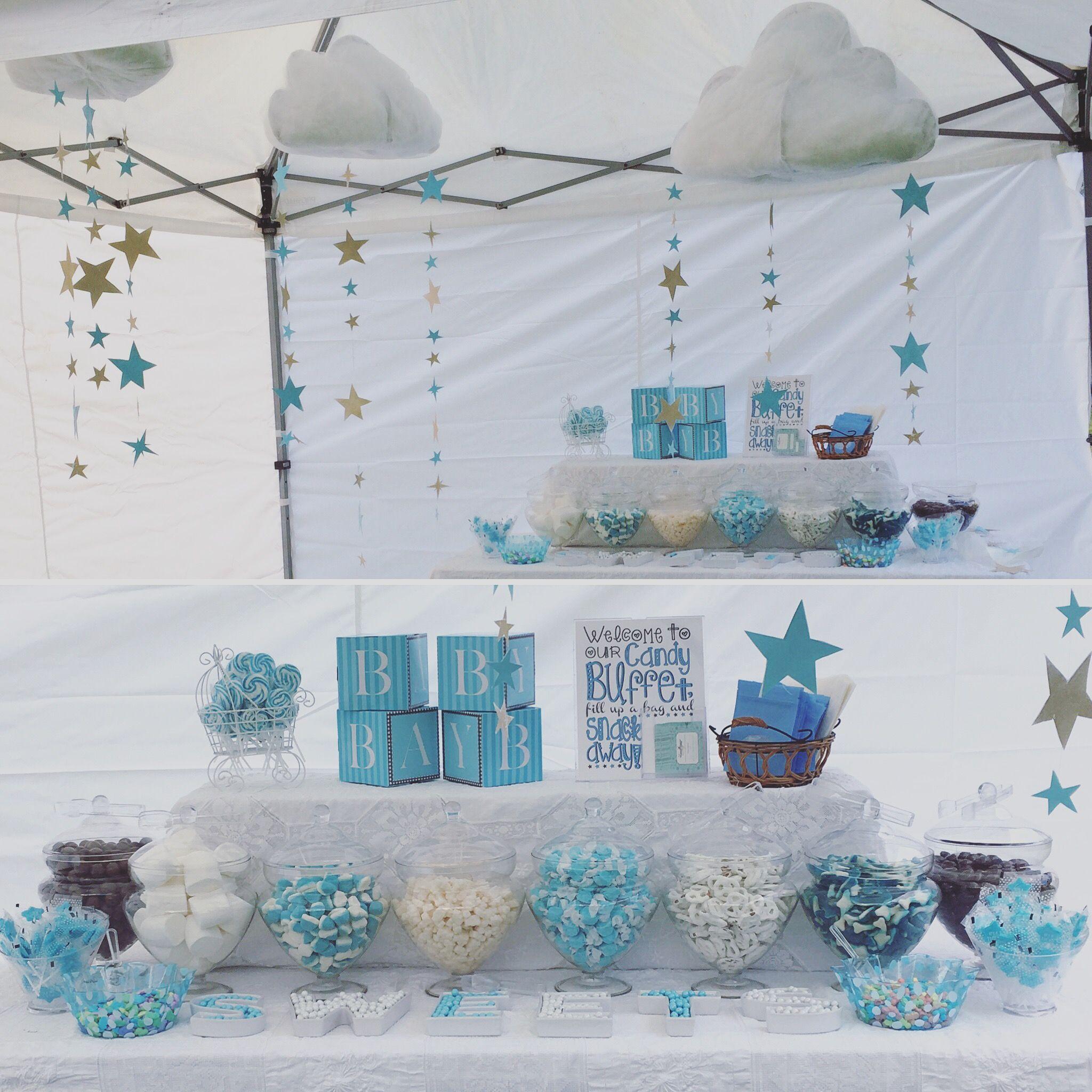 beautiful baby blue white vs candy buffet twinkle twinkle little rh pinterest com
