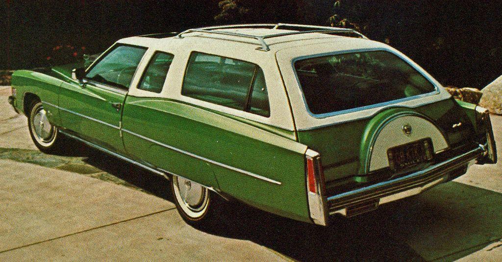 wagon wednesday 1975 cadillac eldorado shooting brake motor rh pinterest es