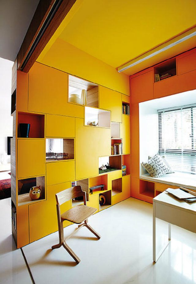 Interiors Think outside the box when creating
