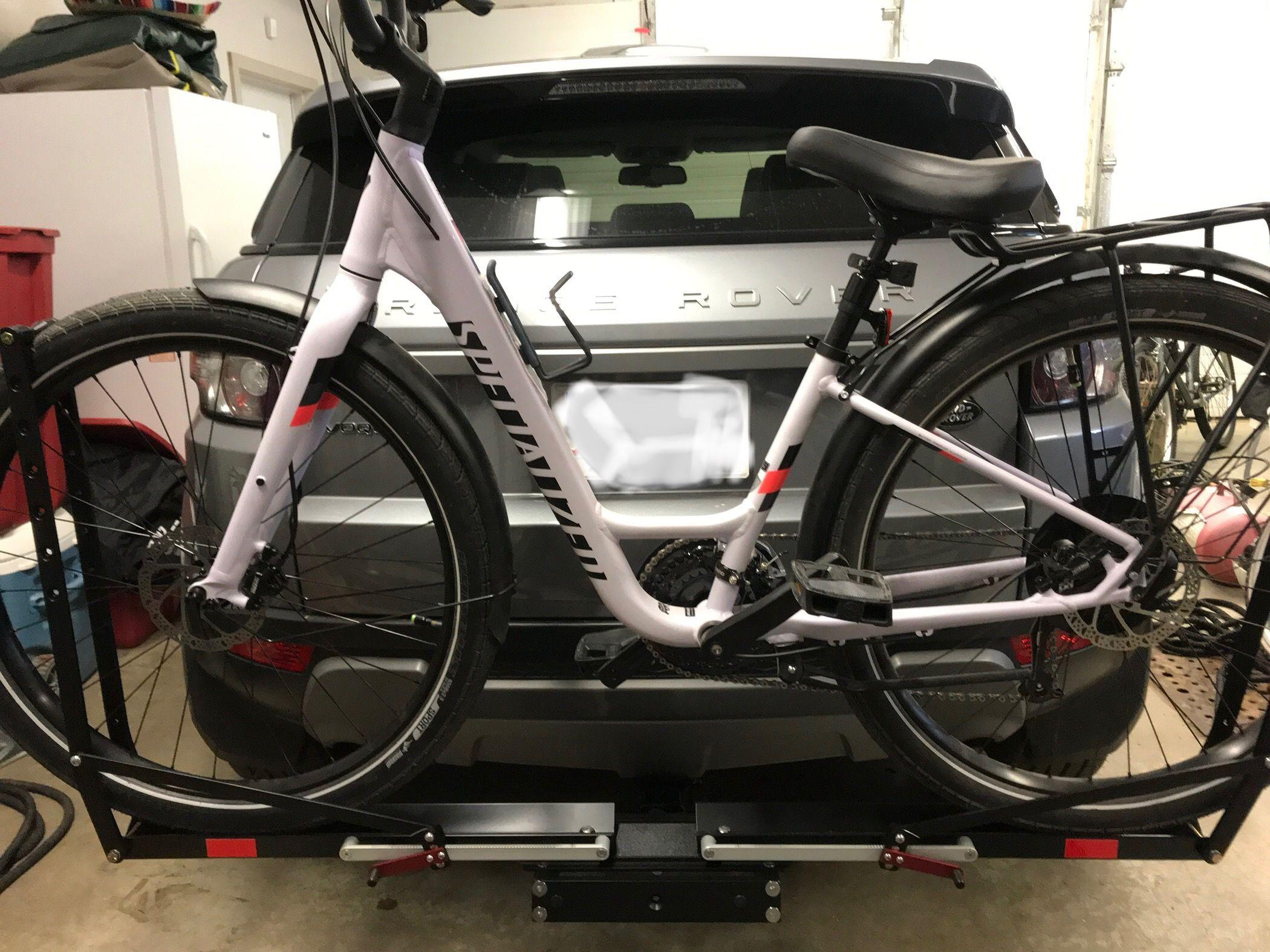 My Specialized Elite Low Entry Roll Installed On My 1up Bike Rack Let S Roll Camper Van Conversion Diy Bike Rack Bike