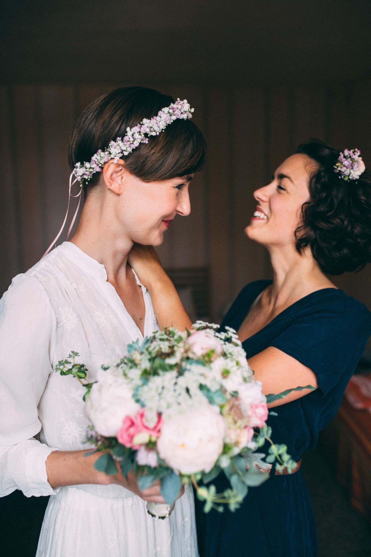 Haarkranz Hochzeit Satu Vintage Haarkranz Blumen Blumenkranz