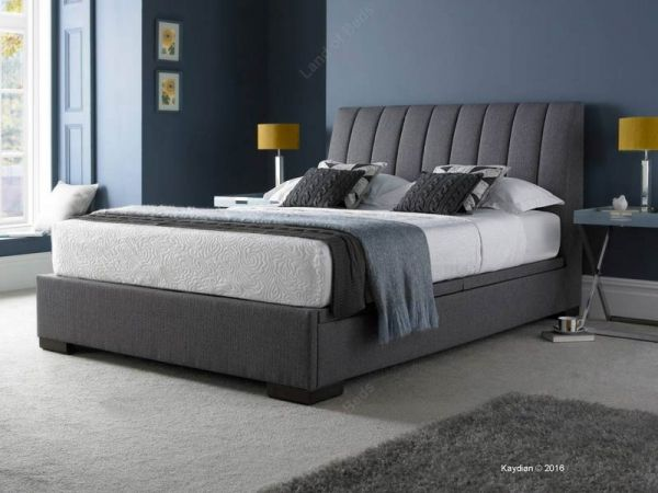Kaydian Lanchester Grey Double Ottoman Bed | Nice House Things ...