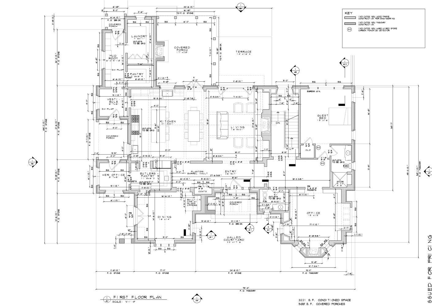 A1 2 Jpg Floor Plan Layout Construction Documents Plan Sketch