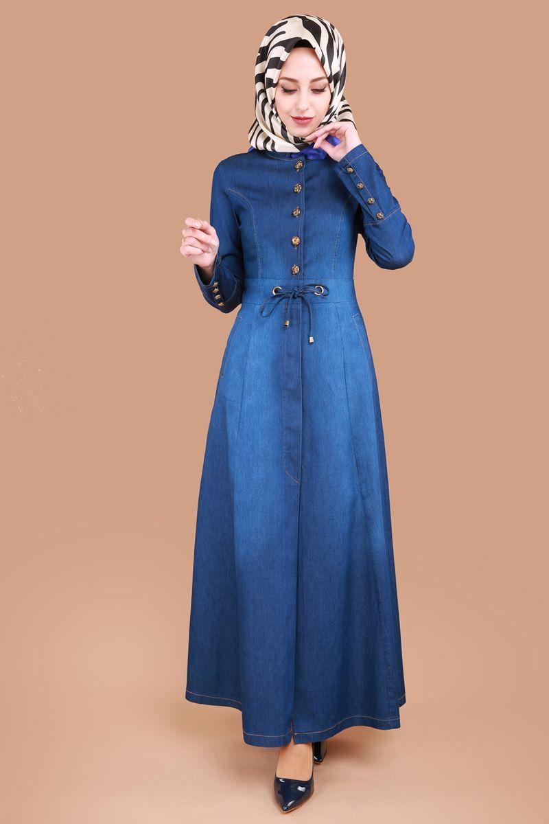 Kusgozlu Kot Ferace Koyu Kot Urun Kodu Msw8176 119 90 Tl Tesettur Ic Camasir Modelleri 2020 Denim Fashion Moda Stilleri Elbiseler