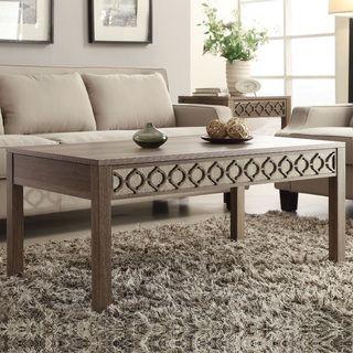 Helena Sun-Bleached Oak Coffee Table | beds | Pinterest | Oak coffee