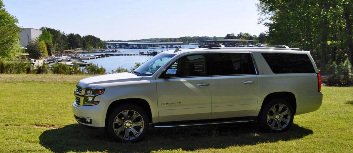 2015 Chevrolet Suburban Ltz 1 2 Ton 4wd Review In 2020 Chevrolet