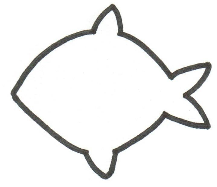 F For Fish Template Invitation Templates Clip Art Library In 2020 Fish Template Fish Printables Clip Art Library