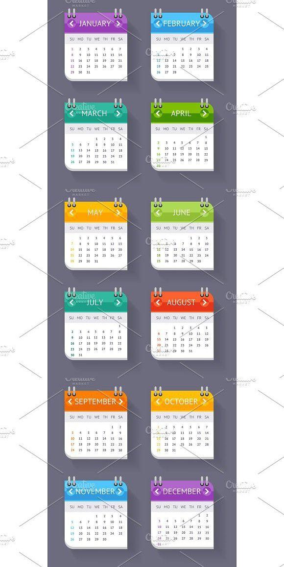 Calendar Quarter Month Set Calendar Templates $500 Calendar - business finance spreadsheet template