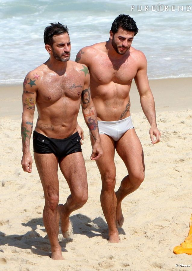 Marc Jacobs et Harry Louis, le couple d'Apollons. - See more: http://www.puretrend.com/media/marc-jacobs-et-harry-louis-le-couple_m822872