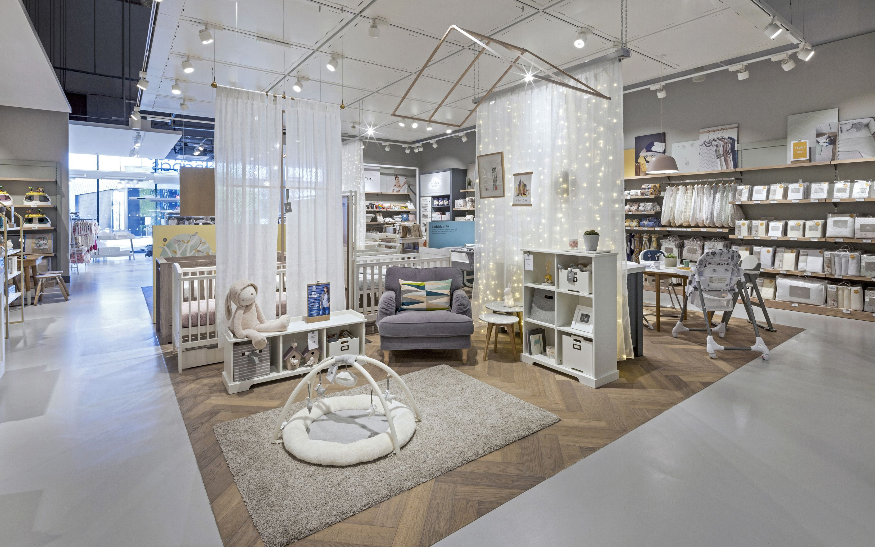 Mamas & Papas expands Nursery Retail Concept In Glasgow