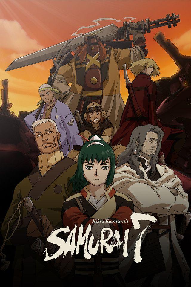 Image result for samurai 7 Anime episodes, Anime, Anime
