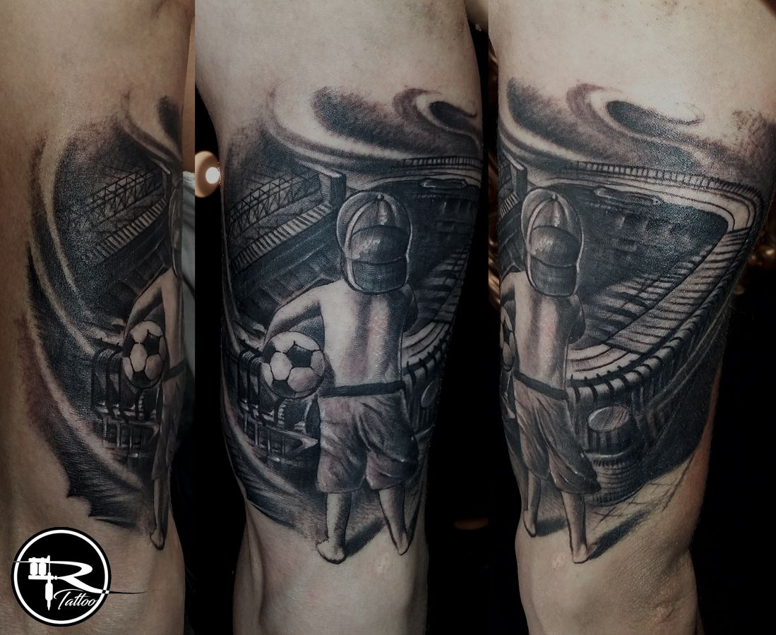 ricardo tattoo wroc aw pl tattoo black and gray tattoo football tattoo socker tatua. Black Bedroom Furniture Sets. Home Design Ideas