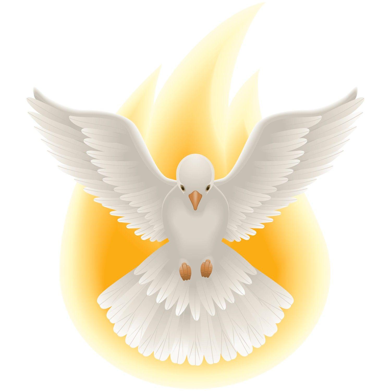 Holy Spirit Confirmation Clip Art Charismatic Renewal Movement Lembranca De Crisma Desenho Do Espirito Santo Ideias Para Batismo