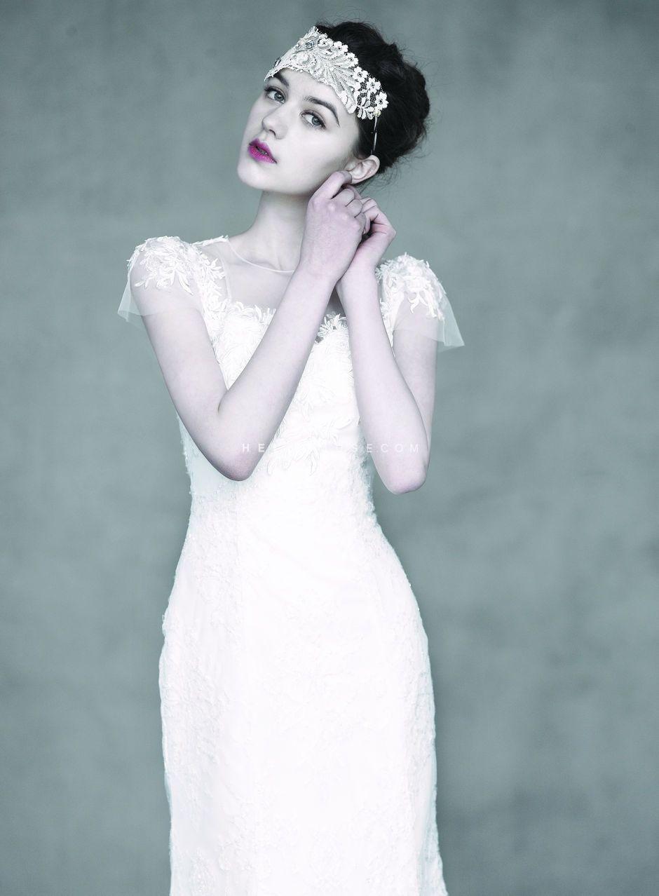 Korean pre wedding dress, Korean designer wedding dress, Korean ...