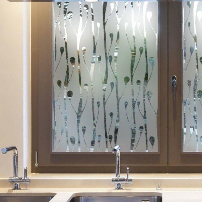 stickers pour vitres pour d corer et pour pr server votre intimit carreaux de fen tre. Black Bedroom Furniture Sets. Home Design Ideas