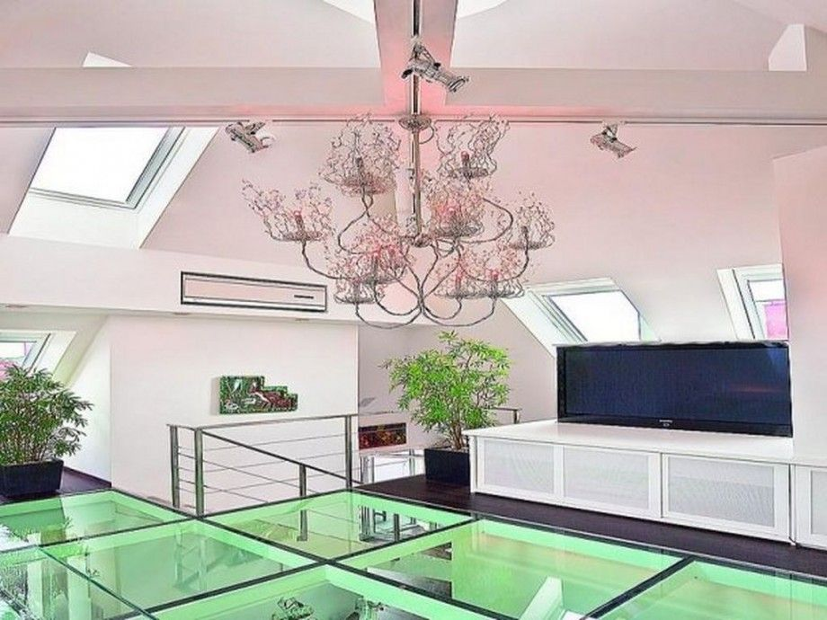 Luxury Glass Floor Tile For Modern Interior Design