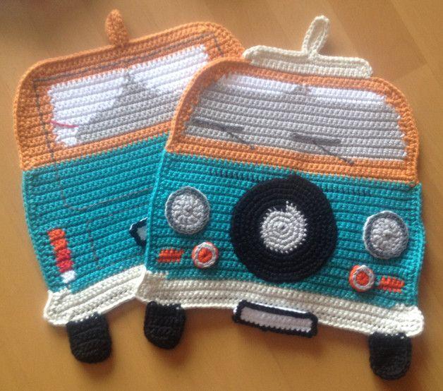 """Photo of Topflappen """"Volkswagen Camper T2"""" – Topflappen – Wohntxtilien – Mit Liebe handg …"""