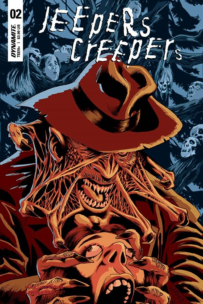 Jeepers Creepers 2 Dynamite Cover Art By Kelley Jones