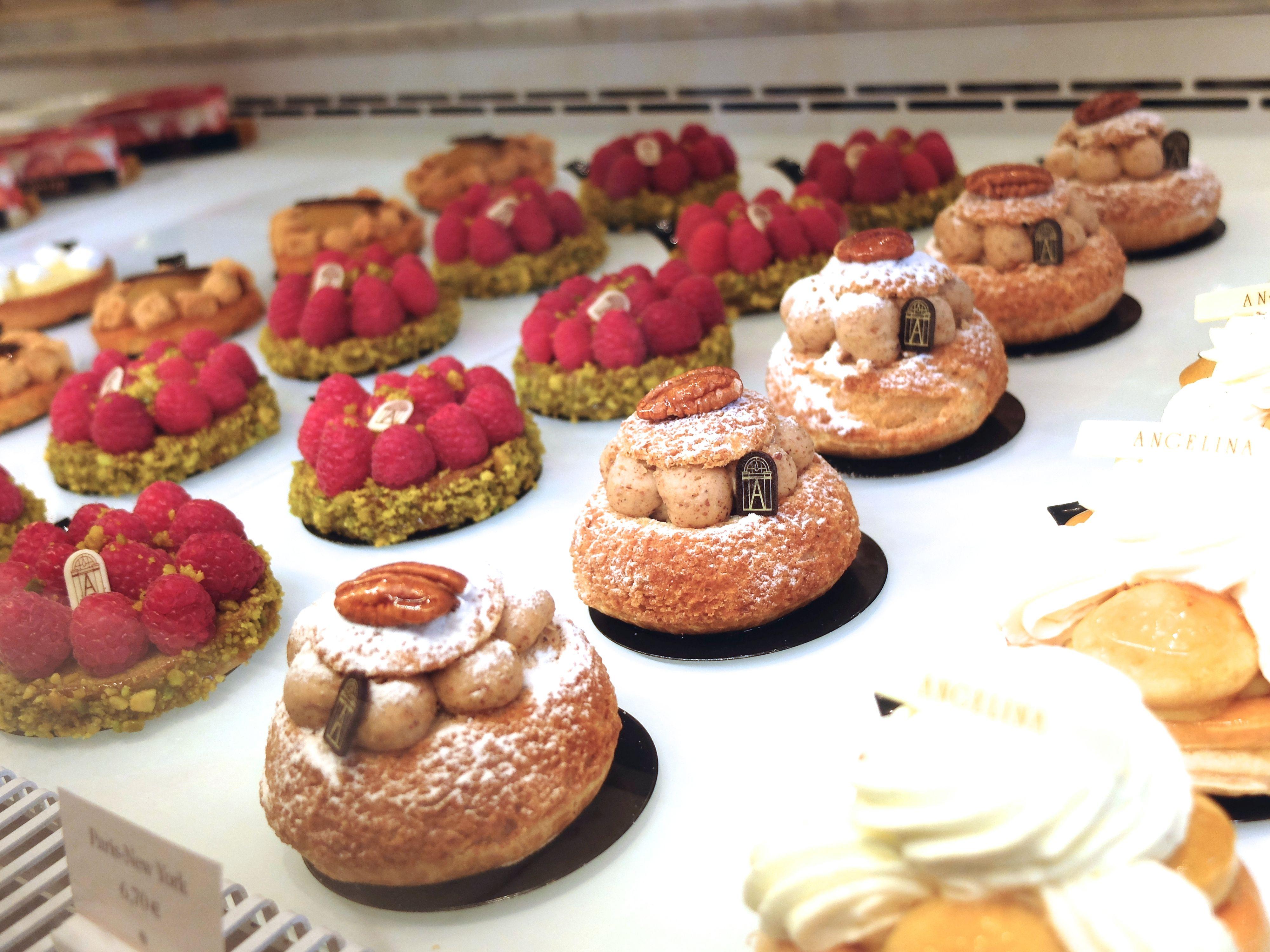 Angelinas Cafe Paris. Pastries pastries pastries! <3 <3