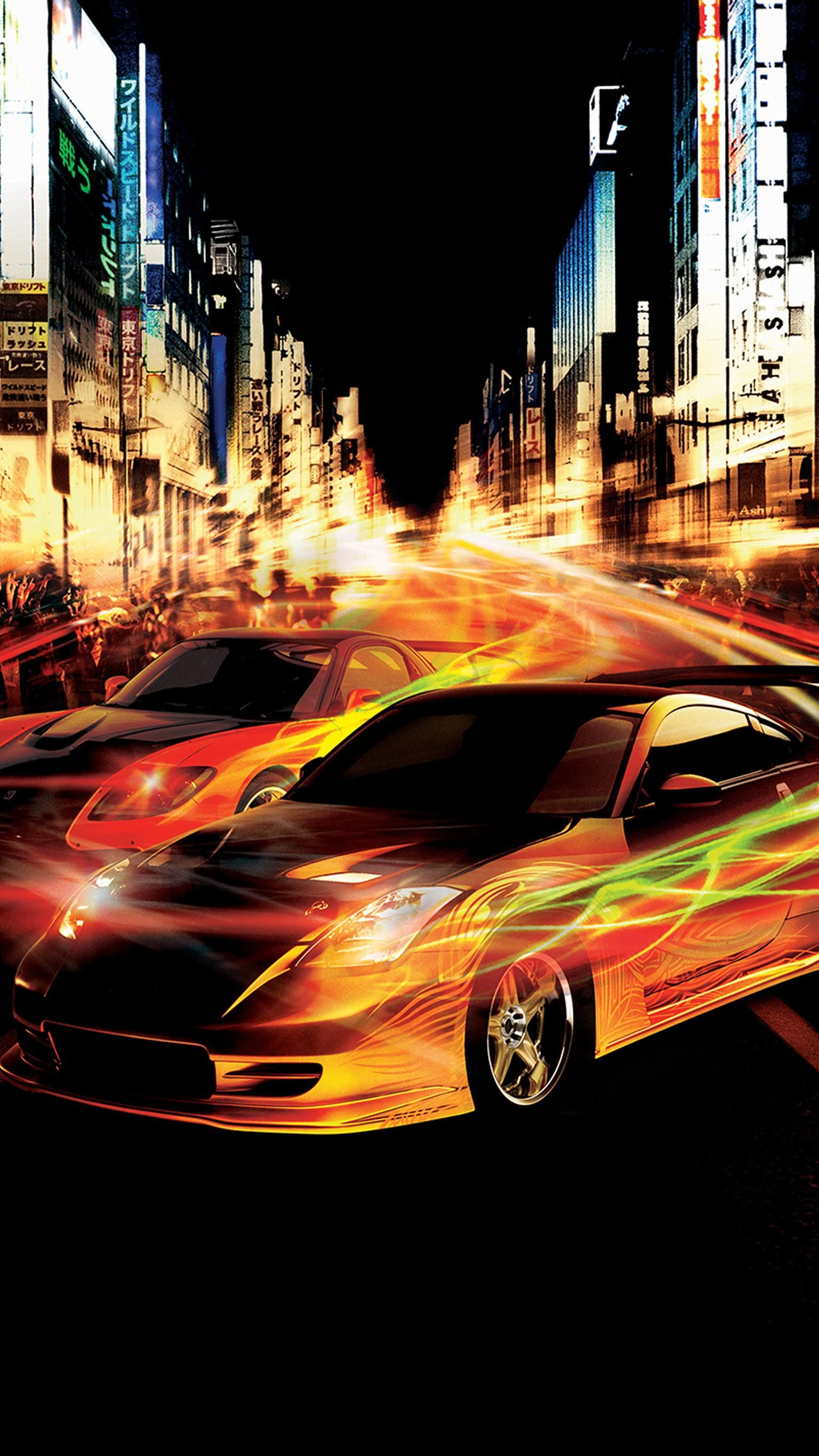 The Fast and the Furious: Tokyo Drift (2006) Phone Wallpaper | Moviemania