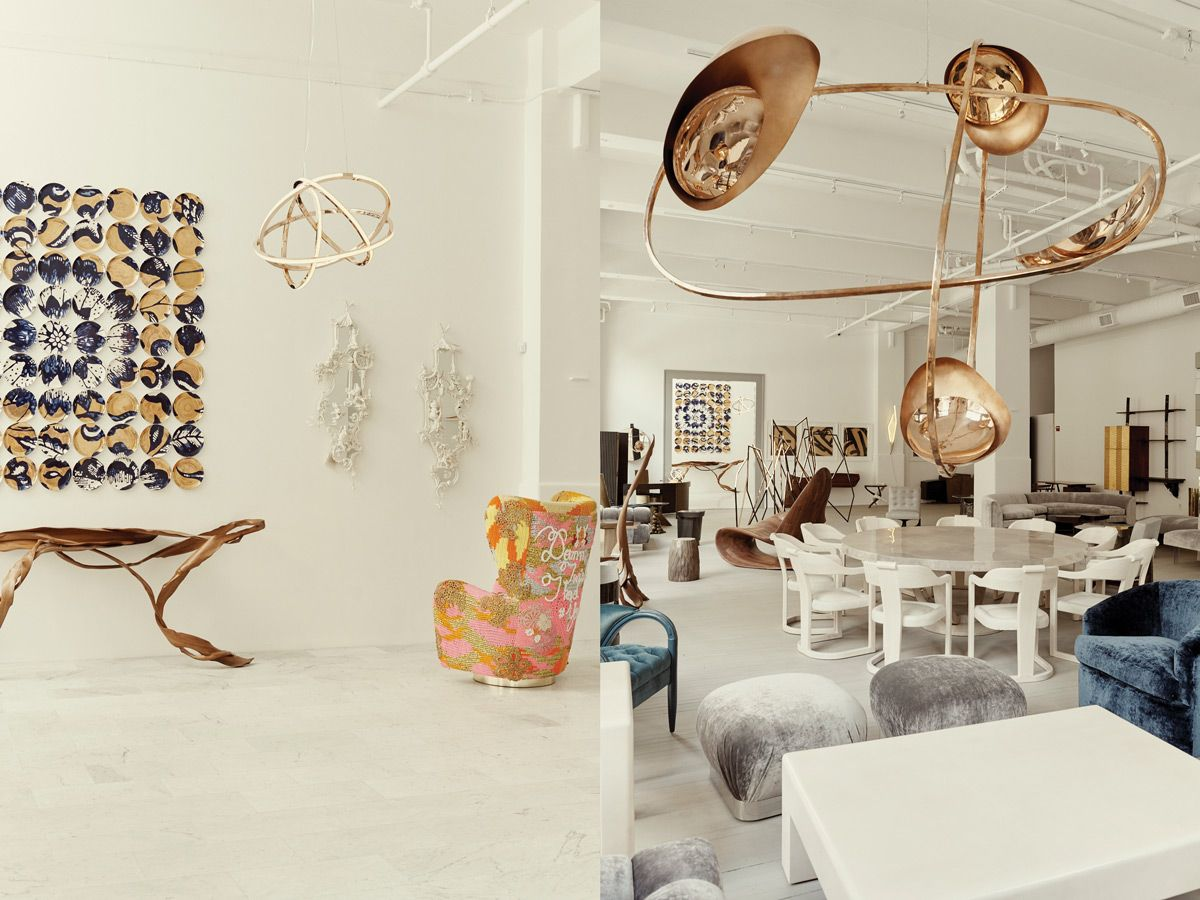 All About Todd Merrill S Namesake Tribeca Studio With Images