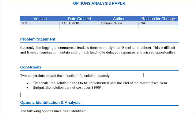 Options Analysis  A Brief Guide And Free Optionsanalysis