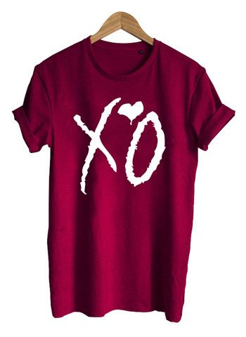 Xo The Weeknd T Shirt Tshirt Graphicshirt Funnyshirt
