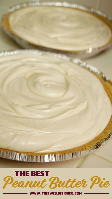 The very best peanut butter pie recipe. This is a pie recipe you'll want to make all the time; seriously the best icebox pie i have ever eaten! You'll get so many compliments when you make this one for your family and friends, PROMISE! #peanutbutter #iceboxpie #peanutbutterpie #pierecipe #easypierecipes