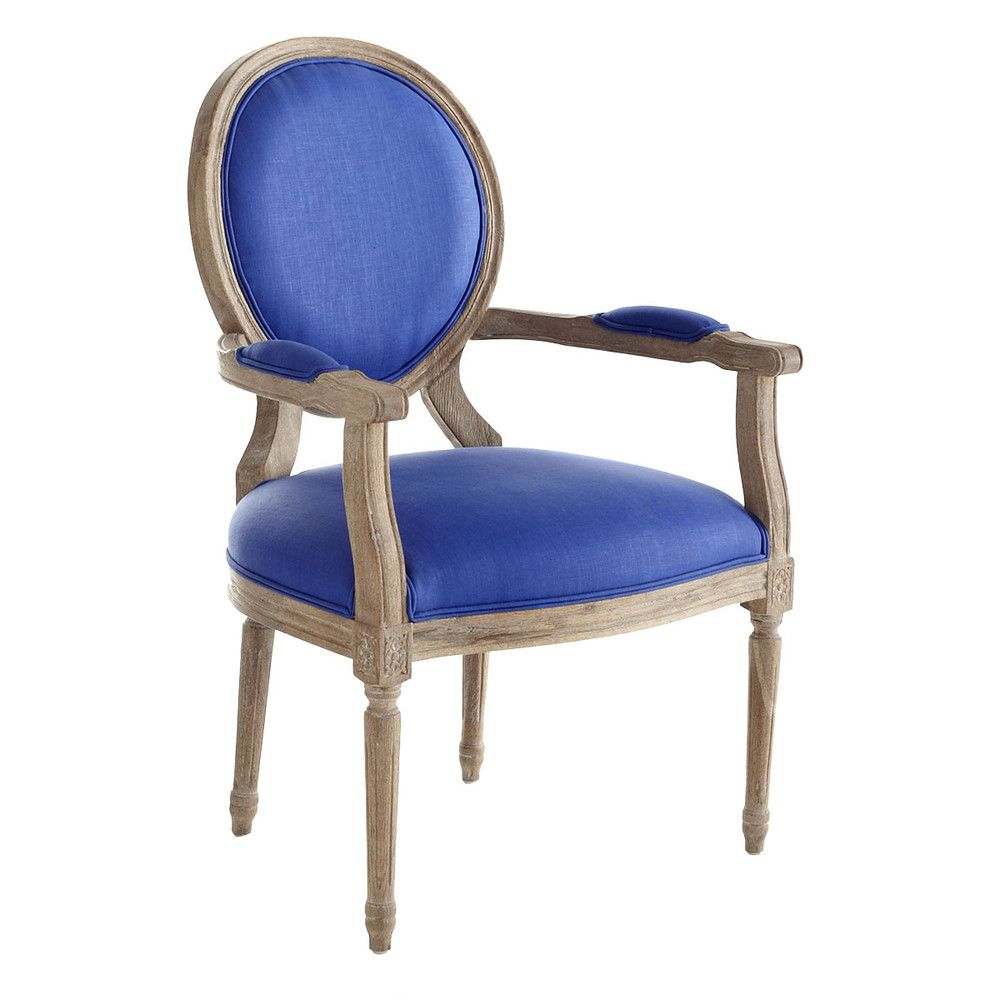 Louis Xvi End Chair  Royal Blue  Louis Xvi Roman Columns And Glamorous End Chairs For Dining Room 2018